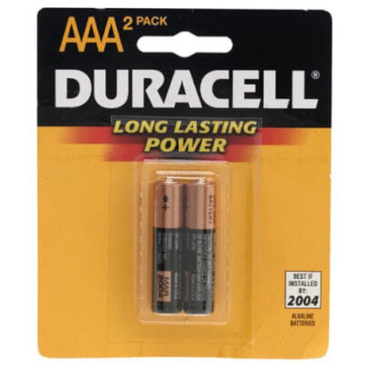Duracell MN2400B2 view 1
