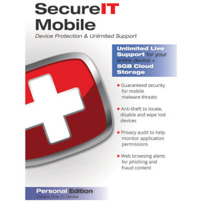Security Coverage SECUREIT+5GB view 1