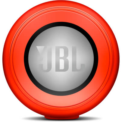 JBL CHARGEIIRED view 3
