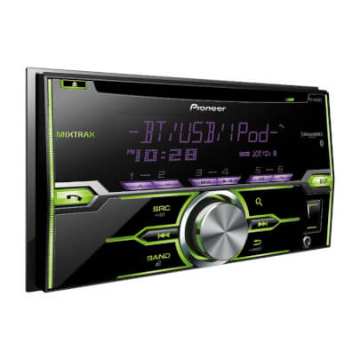 Pioneer FHX820 view 3