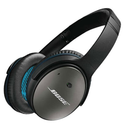 Bose QC25APPLBLK view 1