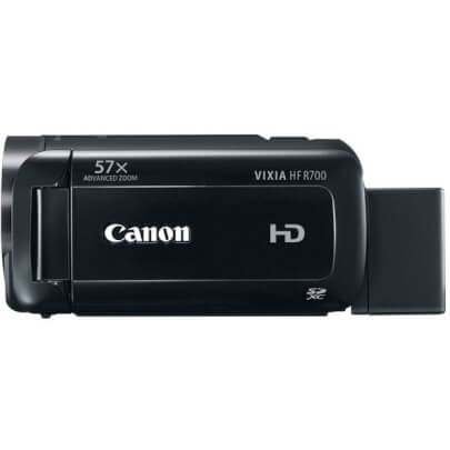 Canon HFR700BK view 2