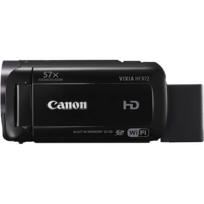 Canon HFR72 view 3