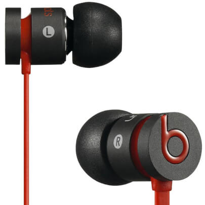 Beats By Dr. Dre URBEATSBLKRB view 1