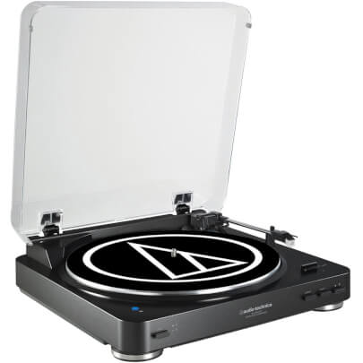 Audio Technica ATLP60BKBT view 1
