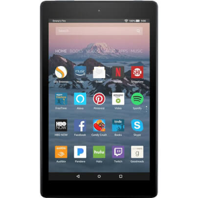 Amazon FIRE8ALEXABK view 1