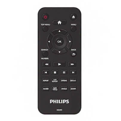 Philips DVP2702 view 3