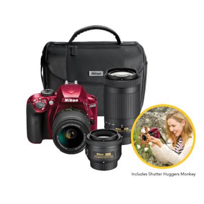 Nikon-D3400TRIPLE