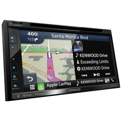 Kenwood DNX574 view 2