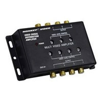 Monkey Video 1 to 7 Video Distribution Amplifier for Automobiles - MVB1 - IN STOCK