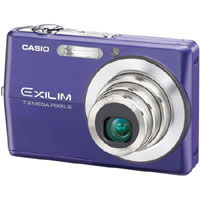 Casio Exilim 7.2 Megapixel Digital Camera (Blue) - EX-Z700BE / EXZ700BE - IN STOCK