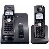 Panasonic 5.8 GHz Cordless Dual Handsets Telephone - KX-TG6022B / KXTG6022 - IN STOCK