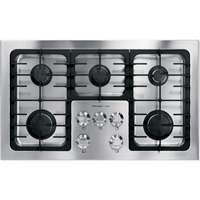 Electrolux ICON 36 in. Stainless 5 Burner 17K BTU Gas Cooktop - E36GC70FSS - IN STOCK