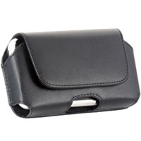 Wireless Palm Centro Universal Horizontal Leather Pouch - HORPDABK - IN STOCK