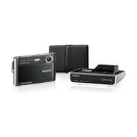 Sony Cyber-Shot 8.1 MP Digital Camera Package w/CSSHD1 - DSCT70HDBDL - IN STOCK