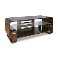 Bell'O 56 in. Espresso Series Wood TV Stand - WAVS-341 / WAVS341 - IN STOCK
