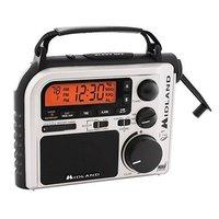 Midland Emergency Crank Weather Alert Radio - ER102 - IN STOCK