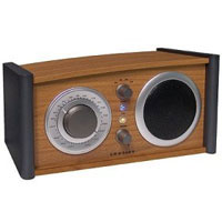 Crosley Comet AM/FM Radio w/Auxiliary Input (Oak) - CR220 / CR220OA - IN STOCK