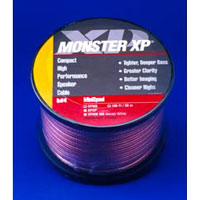 Monster 30FT XP� Clear Jacket Compact Speaker Cable - XPMS-30 / XPMS30 - IN STOCK