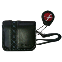 Foray Leather Compact Digital Camera Cases - FOR110TRBLK - IN STOCK