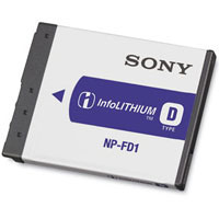 Sony Rechargeable Battery Pack - NP-FD1 / NPFD1 - IN STOCK