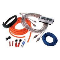 Memphis Audio 8 Gauge Amplifier Kit with RCA Cables - 17-8GKIT / 8GKIT - IN STOCK