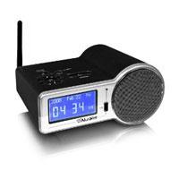 Aluratek Internet Radio Alarm Clock with built-in WiFi (Black) - AIRMM01F - IN STOCK