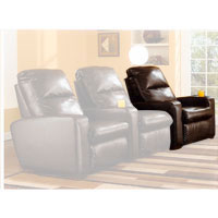 Ashley Signature Design Durahide Bicast Brown 0 Wall RAF Recliner - 3870303 - IN STOCK