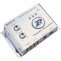 Power Acoustik Digital Bass Processor - BASS-12 / BASS12 - IN STOCK