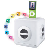 iHome LED Color-Changing Speaker System with Built-In Subwoofer for iPod - IH15W - IN STOCK