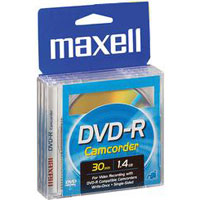 Maxell 10 Pack Mini DVD-R Discs - 567642 - IN STOCK
