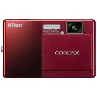 Nikon COOLPIX 12.1 Megapixel Digital Camera (Red) - S70 - IN STOCK