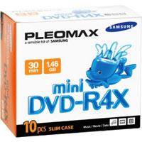 Pleomax 4X Write-once Mini DVD-R - DXG14410SJ - IN STOCK