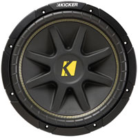 Kicker 15 in. Component Car Subwoofer - 10C154 - IN STOCK