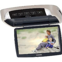 Audiovox 10.2 in. overhead video monitor with built-in DVD player - VOD108 - IN STOCK
