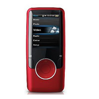 Coby 4GB Video/MP3 Player (Red) - MP6204GRED - IN STOCK