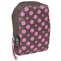 Motion Systems Icon Polka Dot Printed Camera Case (Pink) - PNC42PNK - IN STOCK