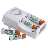 Maxell AA & AAA 4 Battery Charger - BC-200 / BC200 - IN STOCK