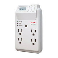 APC 4 Outlet Wall Tap/120V Power-Saving Timer Essential SurgeArrest - P4GC - IN STOCK