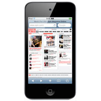 Apple 64GB iPod Touch (Black) - MC547LL/A / MC547LLA / MC547