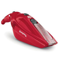Dirt Devil Scorpion Quick Flip 6.0 Volt Cordless Hand Vac (Red) - BD10050RED - IN STOCK