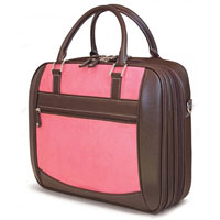 Mobile Edge 16� PC or 17� MacBook ScanFast Element Checkpoint Friendly Briefcase (Pink) - MESFEBX - IN STOCK