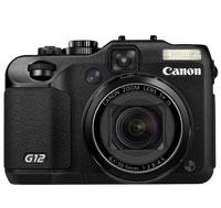 Canon PowerShot 10 Megapixel Digital Camera - PowerShot G12 / 4342B001 / G12 - IN STOCK