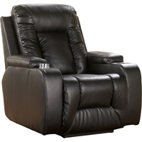 Ashley Signature Design Matinee Eclipse DuraBlend Faux-Leather Recliner - 8740129 - IN STOCK