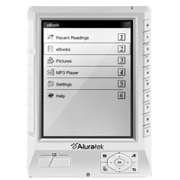 Aluratek Libre eBook Reader PRO - AEBK01WFS - IN STOCK
