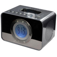 Sylvania Clock Radio with iPod Dock - SIP288 - IN STOCK