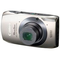 Canon PowerShot ELPH 12.1 Megapixel Digital Camera (Silver) - PowerShot ELPH 500 HS / ELPH500SL - IN STOCK