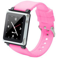 iWatchz Wristwatch strap for 6th Gen iPod nano - CLRCHR22PIK - IN STOCK