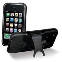 Scosche iPhone Case with Kickstand (Black) - IP3KBK - IN STOCK