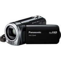 Panasonic 1 MOS High Definition Digital Camcorder - HDC-SD40K / HDCSD40 - IN STOCK